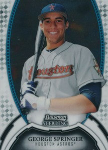 Top George Springer Prospect Cards 12