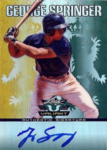 Top George Springer Prospect Cards 16