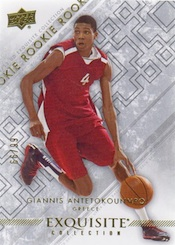 2012-13 Exquisite Collection Giannis Antetokounmpo