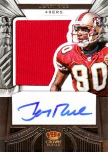 huge selection of ef2d4 8af0d Guide to the Top Jerry Rice Cards