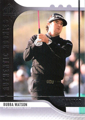 2012 SP Authentic Bubba Watson RC
