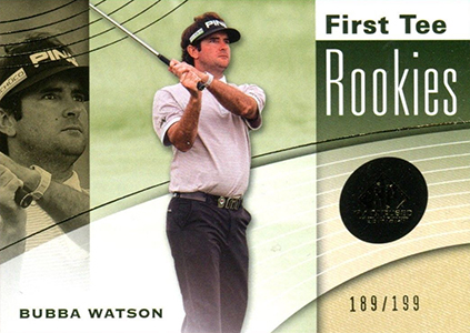 2012 SP Game Used Bubba Watson RC