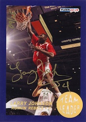 2013-14 Fleer Retro Basketball 1992-93 Fleer Team Leaders Autographs