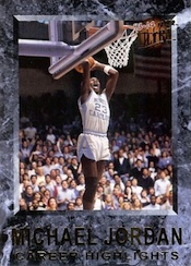 2013-14 Fleer Retro Basketball 1992-93 Michael Jordan Career Highlights