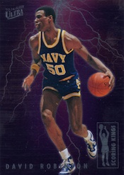 2013-14 Fleer Retro Basketball 1993-94 Scoring Leaders David Robinson