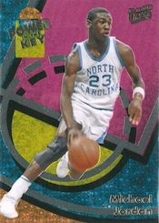 2013-14 Fleer Retro Basketball 1993-94 Ultra Power in the Key Michael Jordan