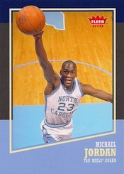 2013-14 Fleer Retro Basketball Base Michael Jordan