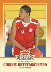 2013-14 Fleer Retro Basketball Base Rookie Giannis Antetokounmpo