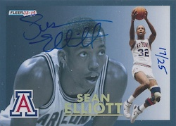 2013-14 Fleer Retro Basketball Final Four Stars Autographs