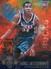 2013-14 Panin Court Kings Giannis Antetokounmpo RC