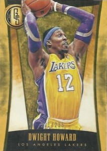 2013-14 Panini Gold Standard Variation Dwight Howard Lakers