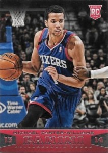 2013-14 Panini Michael Carter-Williams RC #196