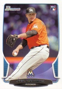 Jose Fernandez Rookie Cards and Prospect Card Guide 2