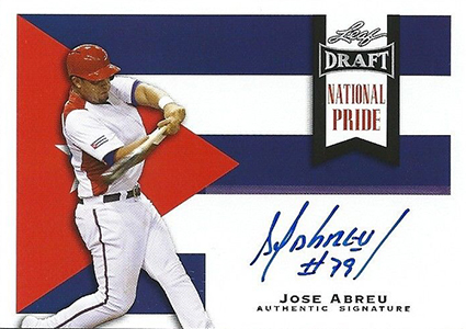 Jose Abreu Rookie Card and Prospect Card Guide 34