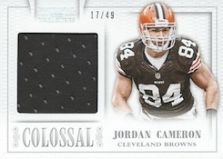 2013 Panini National Treasures Football Colossal