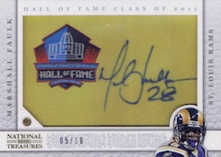 2013 Panini National Treasures Football Enshrinement Signatures