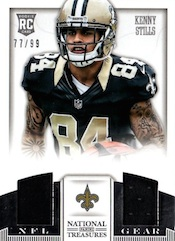 2013 Panini National Treasures Football Cards 46