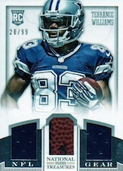 2013 Panini National Treasures Football Cards 47
