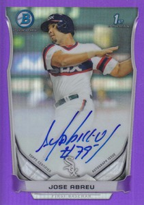Almost 50 Shades of Everything But Grey: 2014 Bowman Prospect Parallels 41