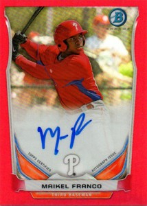 Almost 50 Shades of Everything But Grey: 2014 Bowman Prospect Parallels 46