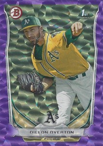 Almost 50 Shades of Everything But Grey: 2014 Bowman Prospect Parallels 4