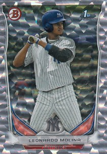 Almost 50 Shades of Everything But Grey: 2014 Bowman Prospect Parallels 7