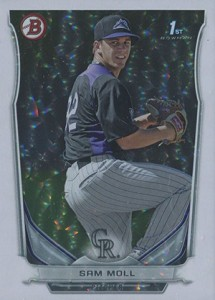 Almost 50 Shades of Everything But Grey: 2014 Bowman Prospect Parallels 8