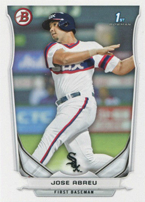 Top Jose Abreu Rookie Card and Prospect Cards 23