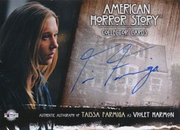 2014 Breygent American Horror Story Autographs TFR1 Taissa Farmiga