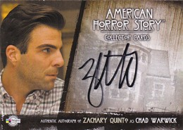2014 Breygent American Horror Story Autographs ZQR2 Zachary Quinto