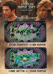 2014 Breygent American Horror Story Dual Autographs AMR1