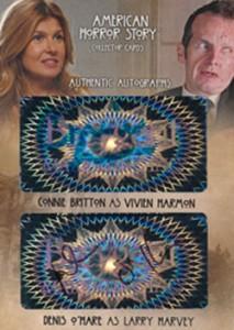 2014 Breygent American Horror Story Dual Autographs AMR4
