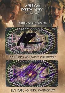 2014 Breygent American Horror Story Dual Autographs AMR5