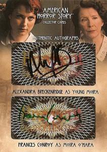2014 Breygent American Horror Story Dual Autographs AMR6