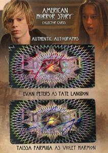2014 Breygent American Horror Story Dual Autographs AMR7