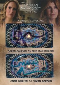 2014 Breygent American Horror Story Dual Autographs AMR8