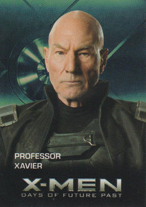 2014 Carl's Jr. X-Men: Days of Future Past Trading Cards 28