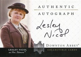 Upstairs, Downstairs: 2014 Cryptozoic Downton Abbey Seasons 1 and 2 Autographs Guide 6