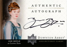Upstairs, Downstairs: 2014 Cryptozoic Downton Abbey Seasons 1 and 2 Autographs Guide 13
