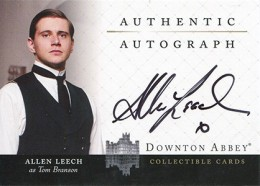 Upstairs, Downstairs: 2014 Cryptozoic Downton Abbey Seasons 1 and 2 Autographs Guide 14