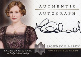 Upstairs, Downstairs: 2014 Cryptozoic Downton Abbey Seasons 1 and 2 Autographs Guide 8