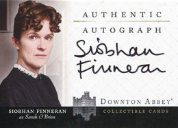 Upstairs, Downstairs: 2014 Cryptozoic Downton Abbey Seasons 1 and 2 Autographs Guide 9