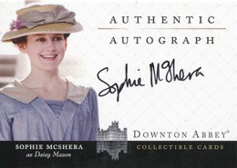 Upstairs, Downstairs: 2014 Cryptozoic Downton Abbey Seasons 1 and 2 Autographs Guide 3