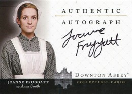 2014 Cryptozoic Downton Abbey Seasons 1 and 2 Autographs A9 Joanne Froggatt
