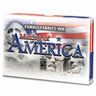 2014 Famous Fabrics Making of America Trading Cards