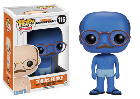 2014 Funko Pop Arrested Development 116 Tobias Funke Blue Chase