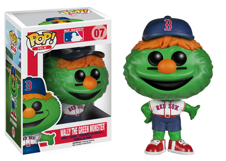 2014 Funko Pop MLB Mascots 07 Wally the Green Monster