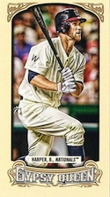 2014 Topps Gypsy Queen Baseball Cards 29