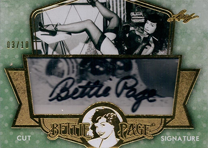 2014 Leaf Bettie Page Collection Trading Cards 21