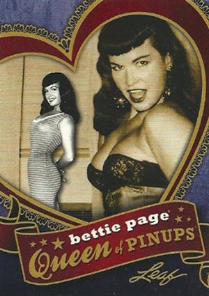 2014 Leaf Bettie Page Collection Trading Cards 27